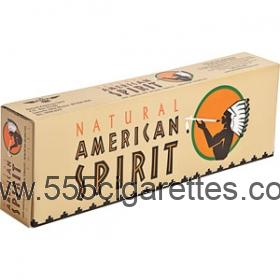 American Spirit Non-filter King cigarettes