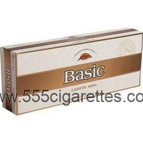 Basic Gold 100's cigarettes