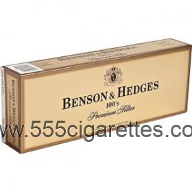 Benson & Hedges 100's cigarettes