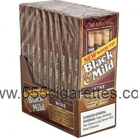 Black & Mild Wine Wood Tip Cigar