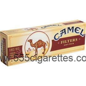 Camel Filter King soft pack cigarettes