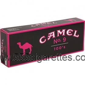 Camel No. 9 100's box cigarettes