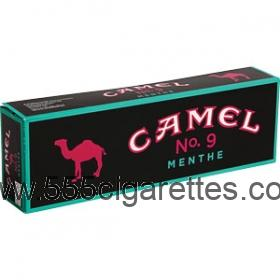 Camel No. 9 Menthol King box cigarettes