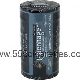 Copenhagen Extra Long Cut Natural Smokeless Tobacco
