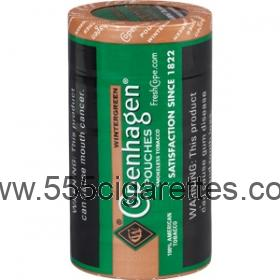 Copenhagen Wintergreen Pouch Smokeless Tobacco