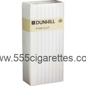 Dunhill Fine Cut White box cigarettes