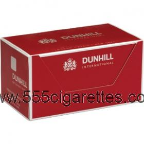 Dunhill International Red box cigarettes