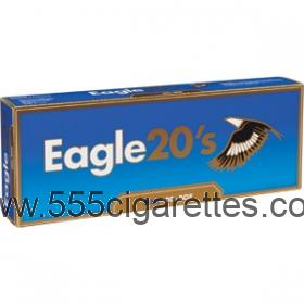 Eagle 20's Blue 100's Cigarettes
