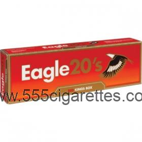 Eagle 20's Red Kings Cigarettes