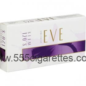 Eve Amethyst 120's Cigarettes