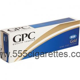 GPC Gold King cigarettes