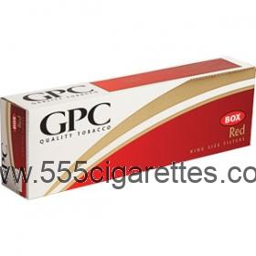 GPC Red King cigarettes