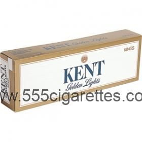 Kent Golden light Kings cigarettes