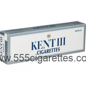 Kent III Kings cigarettes