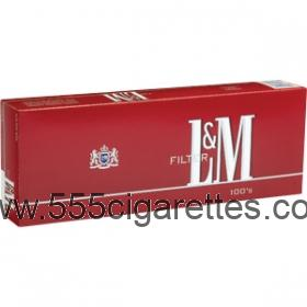 L&M Red 100's Cigarettes