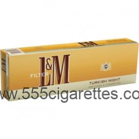 L&M Turkish Night cigarettes