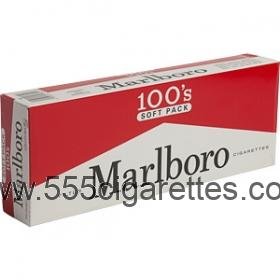 Marlboro 100s Soft Pack cigarettes