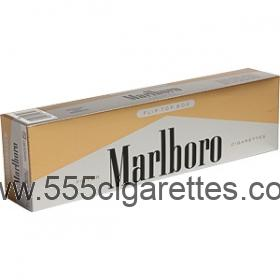 Marlboro 72's Gold Pack box cigarettes