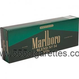 Marlboro Blend No. 54 100's box cigarettes