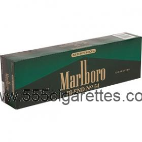 Marlboro Blend No. 54 Kings box cigarettes
