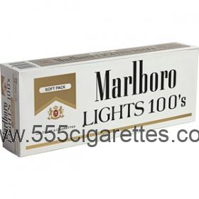 Marlboro Gold Pack 100's soft pack cigarettes