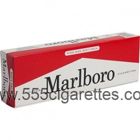 Marlboro Kings soft pack cigarettes