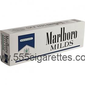 Marlboro Menthol Gold Pack box cigarettes