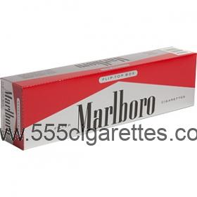 Marlboro Red 72's box cigarettes