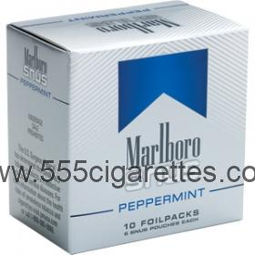 Marlboro Snus Peppermint Smokeless Tobacco