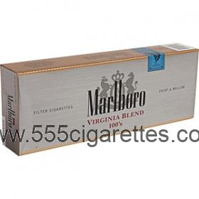 Marlboro Virginia Blend 100's box cigarettes