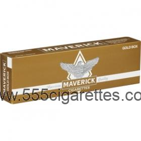 Maverick Gold cigarettes