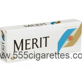 Merit Bronze 100's cigarettes