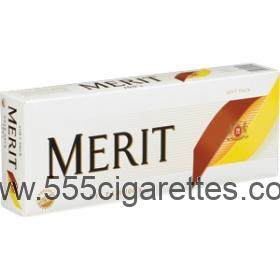 Merit Gold 100's cigarettes