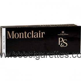 Montclair Black 100's Cigarettes