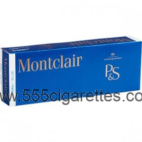Montclair Blue 100's Cigarettes