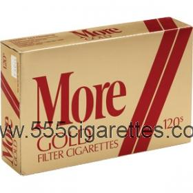 More Gold 120's Cigarettes