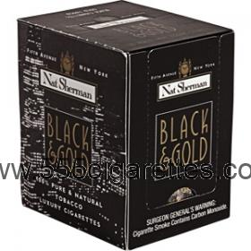 Nat Sherman Black & Gold cigarettes