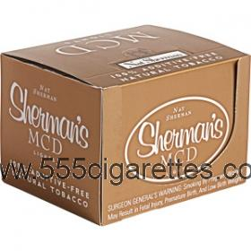 Nat Sherman MCD Gold Cube cigarettes
