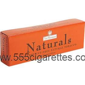 Nat Sherman Naturals Kings cigarettes