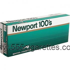 Newport 100's soft pack cigarettes