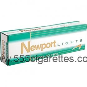 Newport Menthol Gold box cigarettes - 555cigarettes.com