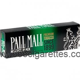 Pall Mall Black 100's Cigarettes
