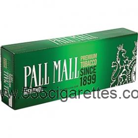 Pall Mall Menthol 100's cigarettes