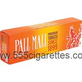 Pall Mall Orange Kings cigarettes