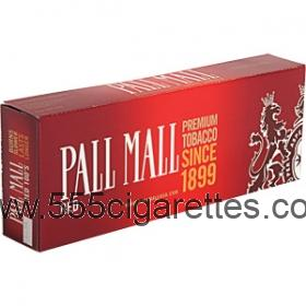 Pall Mall Red 100's cigarettes
