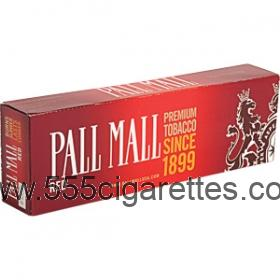 Pall Mall Red Kings cigarettes