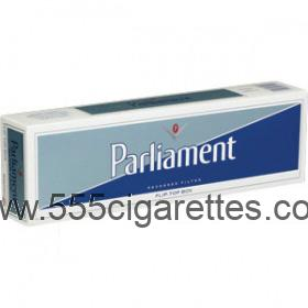 Parliament Silver Pack cigarettes
