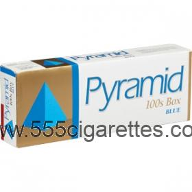 Pyramid Blue 100's Cigarettes
