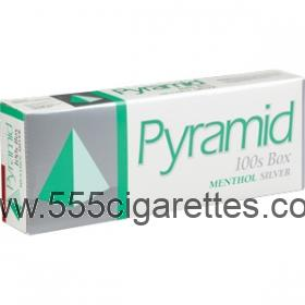 Pyramid Menthol Silver 100's Cigarettes