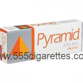 Pyramid Orange 100's Cigarettes